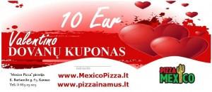dovanu cekiai valentino MEXICO